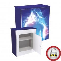 Faltbar Kederrahmen Theke mit LED