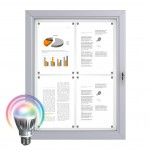 LED Schaukästen - Magnetisch 4x DIN A4